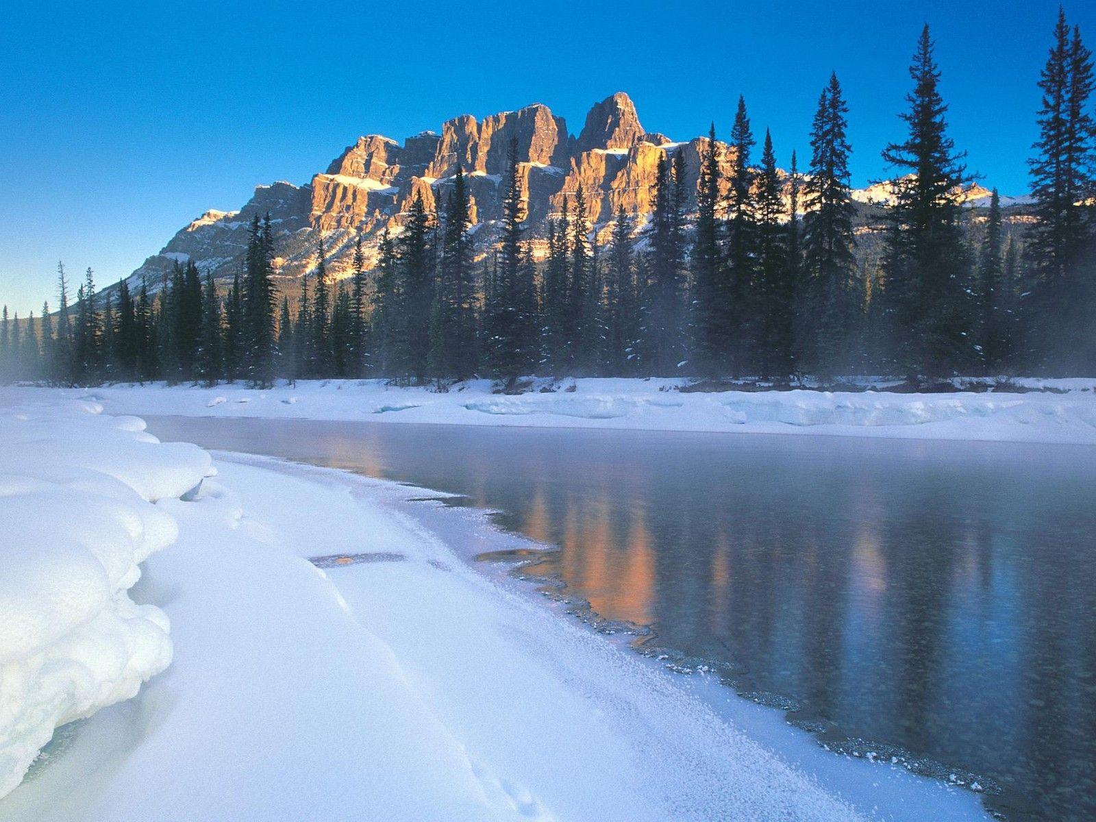 Paysages hiver for Immagini inverno sfondi